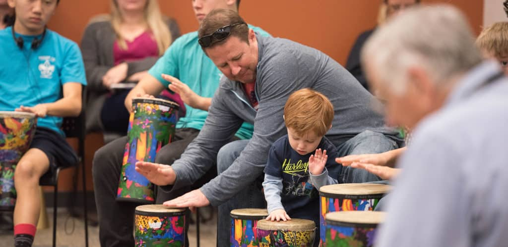 Family Drumming Workshop Image