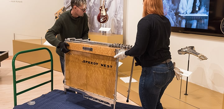 Speedy West Pedal Steel Guitar Image